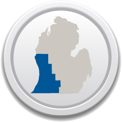 An icon of the Western Michigan region